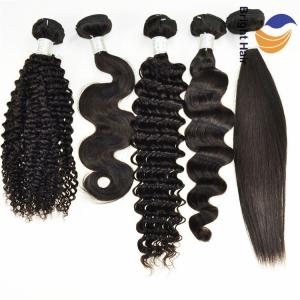 Wholesale clip on hair extension: Hot Selling Brazilian Human Remy Hair Weave Extensions