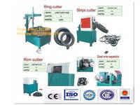 Semi-Auto Waste/Used Tire Recycling Line with Cheap Price