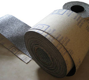 Wholesale particle size test: Heavy Duty Graphite Coated Canvas Rolls