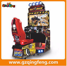 Wholesale racing game machine: Qingfeng 2015 GTI Hottest Coin Operated Dirty Driving Car Racing Game Machine