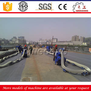 Wholesale Cleaning Equipment: Used Movable Shot Blasting Machine for Bridge Deck