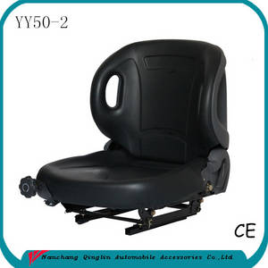 Wholesale forklift spare parts: Hot Selling Deluxe Forklift Truck Spare Part Universal Forklift Seat(YY50-2)