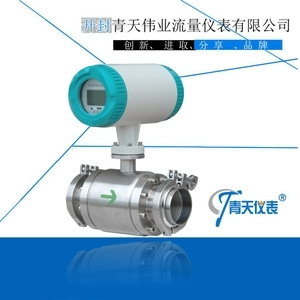 Magnetic Flow Meter with Clamp