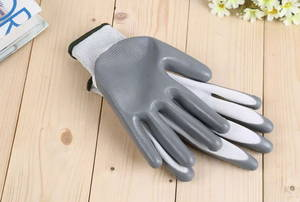 Wholesale work gloves: Safety Gloves with Nitrile Palm Coated for Working