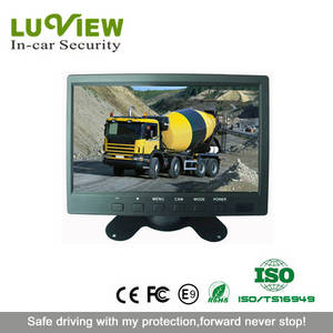 Wholesale tft lcd monitor: 7 Inch TFT-LCD Monitor 2-CH Stand Alone Car Monitors with Waterproof