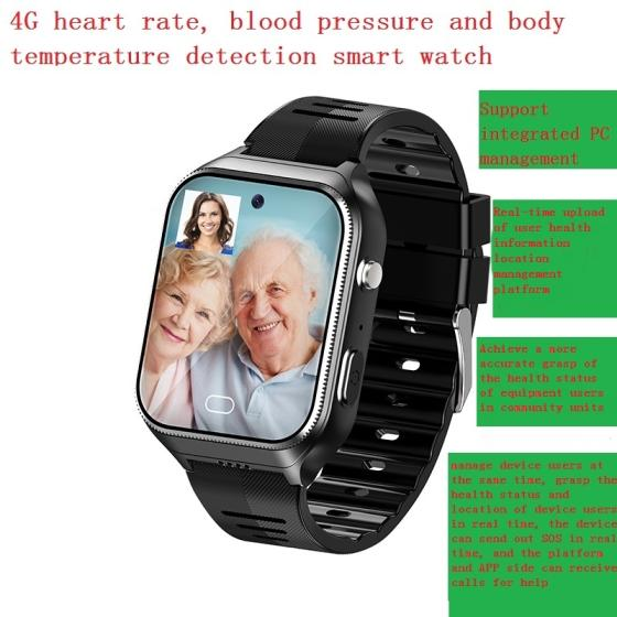 Sell Heart rate blood pressure body temperature detection smart phone watch