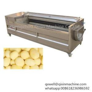 Wholesale industrial washing machine: Commercial Automatic Sweet Potato Washing and Peeling Machine / Industrial Potato Peelers