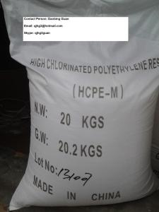 Wholesale polyethylene glycol: High Chlorinated Polyethylene Resin(HCPE-M)