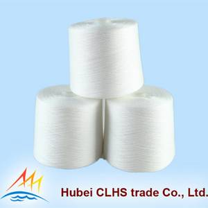 Wholesale polyester spun sewing thread: 100% Ring Spun Polyester Yarn for Sewing Thread