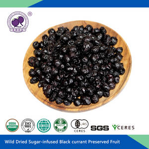 Wholesale currant: Dried Sugar Infused Black Currant