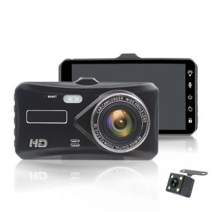 Wholesale video camcorder: 2Ch Car DVR 4.0 Touch Screen Camera Full HD 1080P Driving Video Recorder Vehicle Digital Camcorder