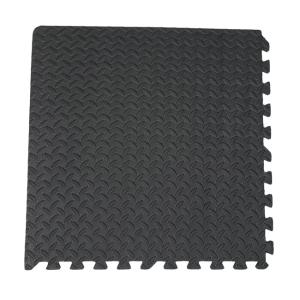 Wholesale eva foam: Odorless EVA Foam Leaf Texture Interlocking Gym Puzzle Exercise Mat