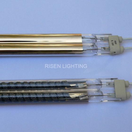 Sell Gold Twin Tube Carbon Heat Lamp