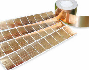 Wholesale copper foil: Die-cutting Acrylic Conductive Adhesive Equivalent 3M1181 Copper Foil Tape