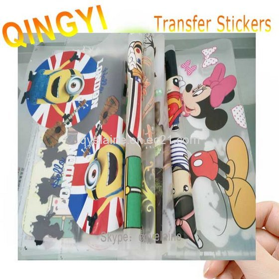 DIY Printable Heat Transfer Film Printed Sticker for T-shirt