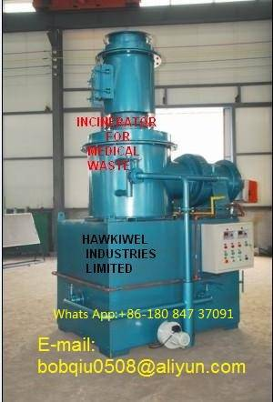 Sell  incineration equipment for dry waste
