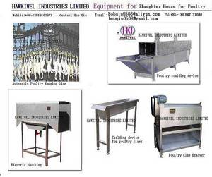 Wholesale steel wooden house: Poultry Slaughter House