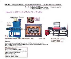 Wholesale pulverized powder: Waste Tyre Shredding and Recycling Plant