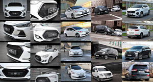 Wholesale car accessories: Korean Car Body Kits, Aero Parts, Accessories for Hyundai, KIA, SSangYong, GM, Renault Samsung, Etc