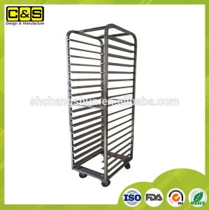 Wholesale bakery oven: Custom Oven Bakery Trolley / Kitchen Serving Trolley Carts