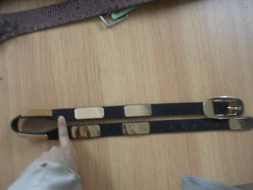 Sell metal leather belt