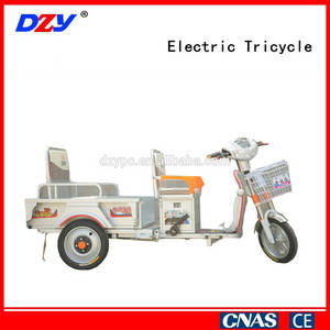 Wholesale elevator station plate: Three Wheel Electric Adult Tricycle