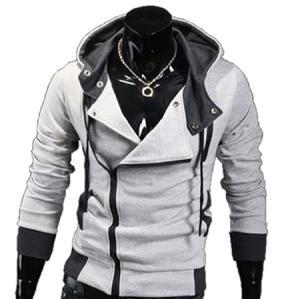 Wholesale fleece: Stylish Fleece Side Zipper Hoodie