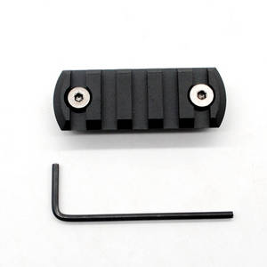 Wholesale rifle sling: 5 Slots 2.25 CNC Aluminum Picatinny Rail for KeyMod Handguard Rail System