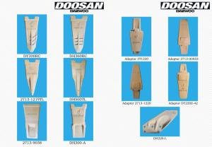Wholesale doosan: Doosan Bucket Teeth and Adaptor