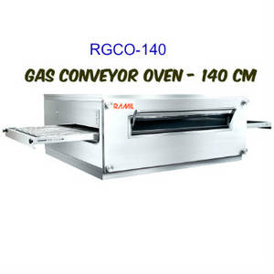 Wholesale conveyor: Gas Pizza Conveyor Oven - 140 Cm Area