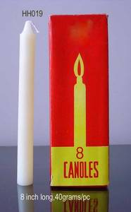 Wholesale Candles: White Candles