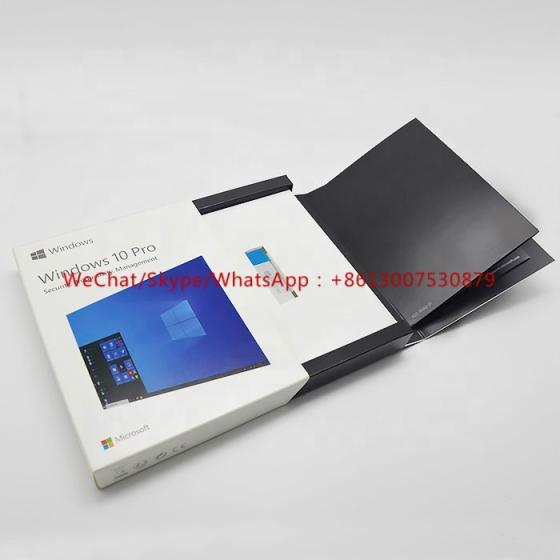 Microsoft Win 10 Professional 3.0 USB Flash Drive 64bit Windows 10 Pro Key FPP Retail Box