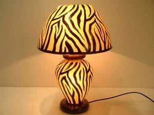Wholesale hand lamp: Hand Painted lamp