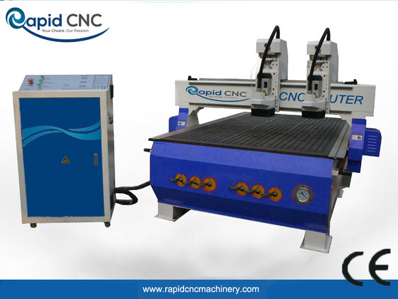 Dual Heads  CNC  Router