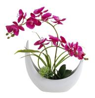 Decorative Home Garden Artificial Orchid Flowers