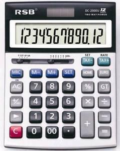 Wholesale currency exchange calculator: Multi-Foreign Currency Exchange Rate Solar Calculator (DC-200EU)