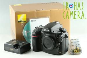 Wholesale shutter: Nikon D800 Digital SLR Camera with Box *Shutter Count 31540*#25413