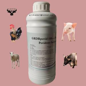 Wholesale biocide: 2017 Hot Selling Povidone Iodine Solution / Disinfectant / Veterinary Disinfectant