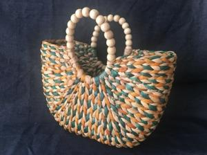Wholesale handbag: Vietnam Seagrass Handbag