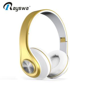 Wholesale wireless headset: Luxury Headband Bluetooth Headphone Wireless BT Headset
