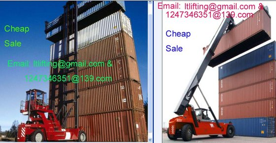 Container Lifting Crane Container Forklift Truck Reachstacker Used Reach Stacker Container Handler