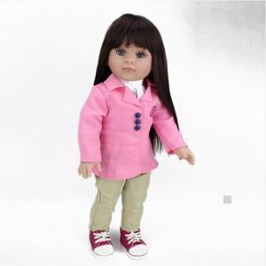 Wholesale cleaning duster: New Product Customized 18 Inch American Girl Doll Cute Baby with Beautiful Cloth
