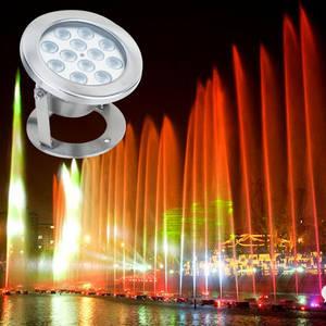 Wholesale Underwater Lights: IP68 Waterproof 9w 12w RGB LED Underwater Lights for Fountain