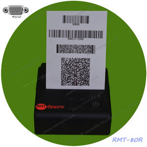 Wholesale bar support: 80mm Serial RS232 Printer POS Thermal Printer 3inch Taxi Pirnter Support Bar Code QR Code PDF Image