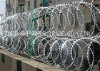 Wholesale razor: Hot Dipped Galvanized Coiled Razor Wire Zinc Coated High Tensile For Fence