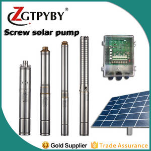 Wholesale deep well pump: Solar Powered Solar Agricultural Water Pump Bldc DC Deep Well Solar Submersible Pump in Haiti