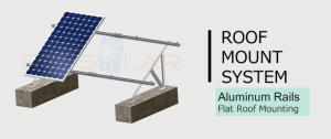 Wholesale Solar Energy Products: Flat Roof Mounting System