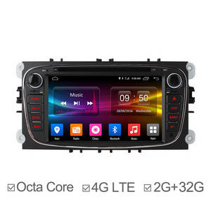 Wholesale dvd: 7Inch Octa Core Android 6.0 in Dash Car DVD for Ford Focus