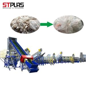 Wholesale plastic recycling machine: Plastic Film Washing Recycling Machine Voltage Customized Plastic Recycling Unit