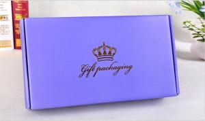 Wholesale paper box: Printed Paper Box with Hot Stamping